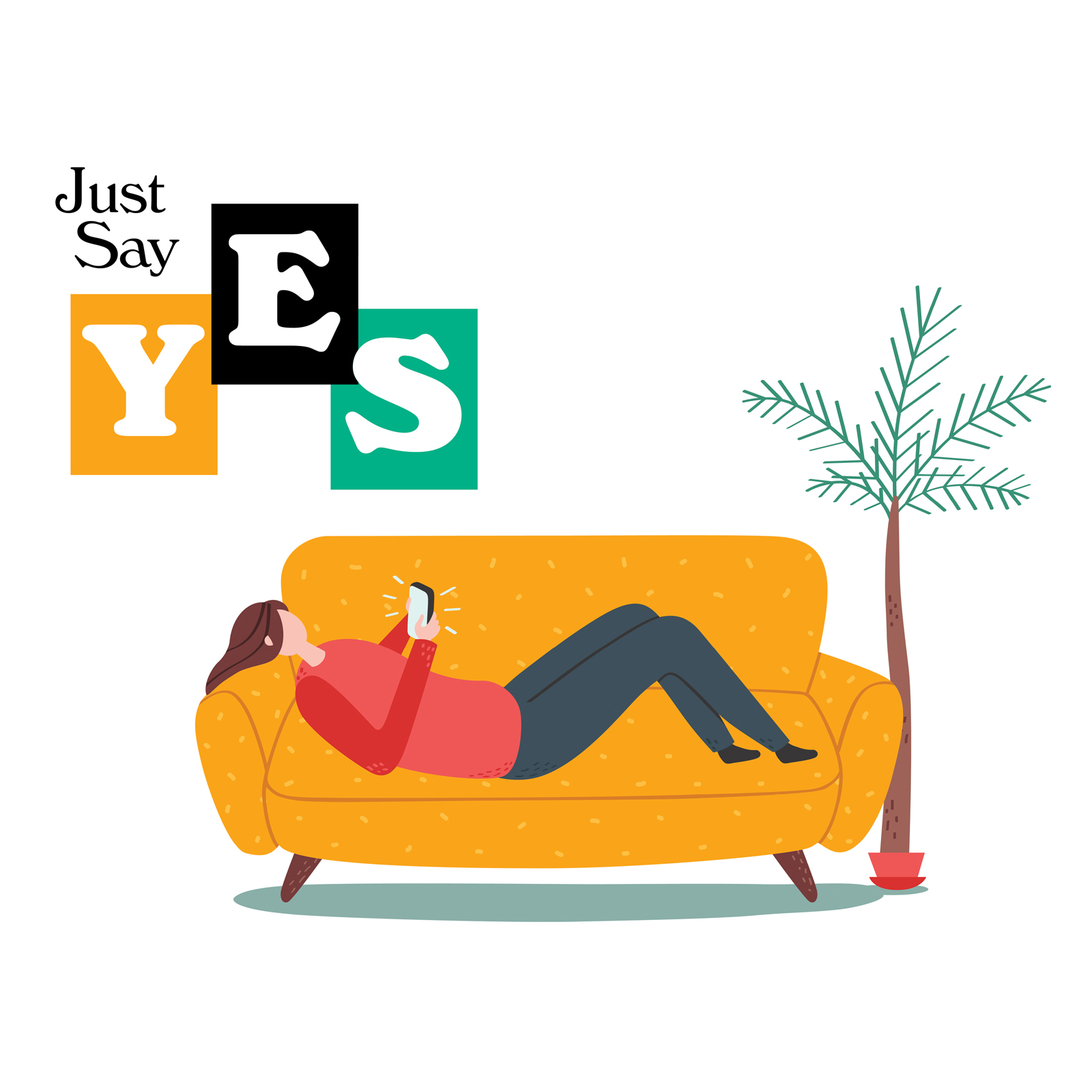 Image for 'Just Say Yes'