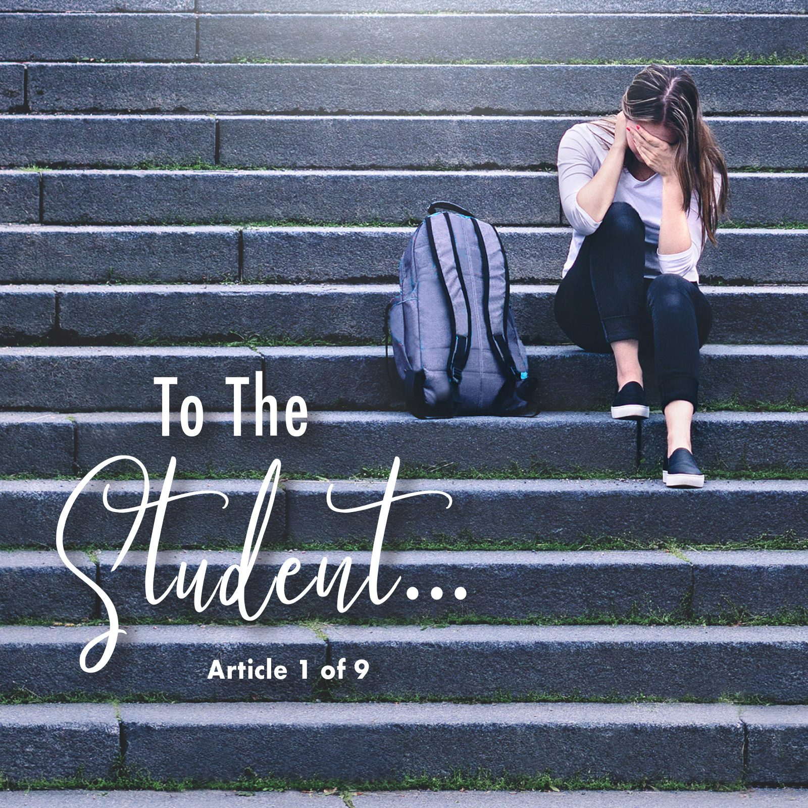 To the Student…