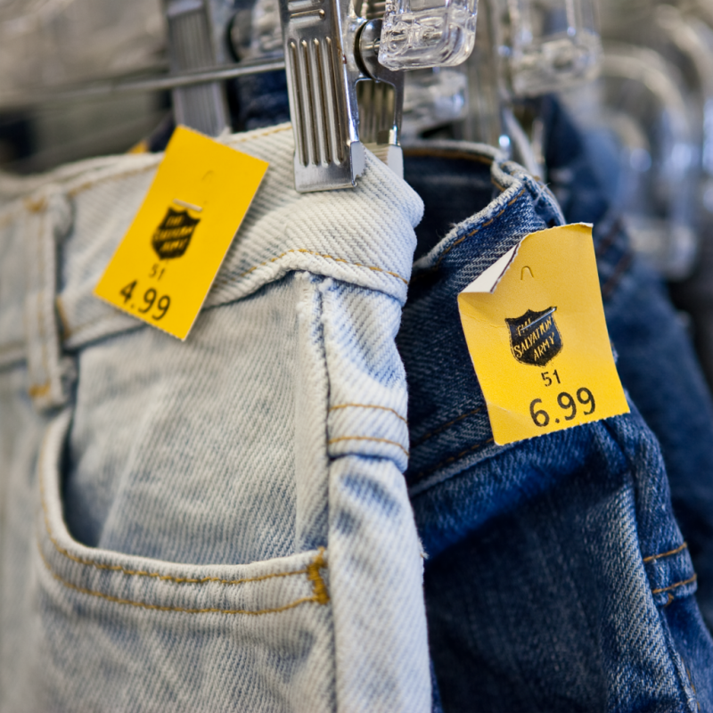 10 Tips on How to Shop at a Salvation Army Thrift Store