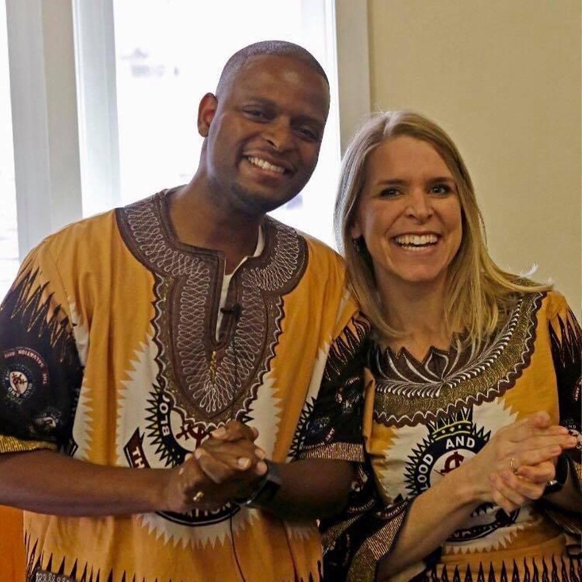 22. Captains Emmanuel and Jennifer Masango